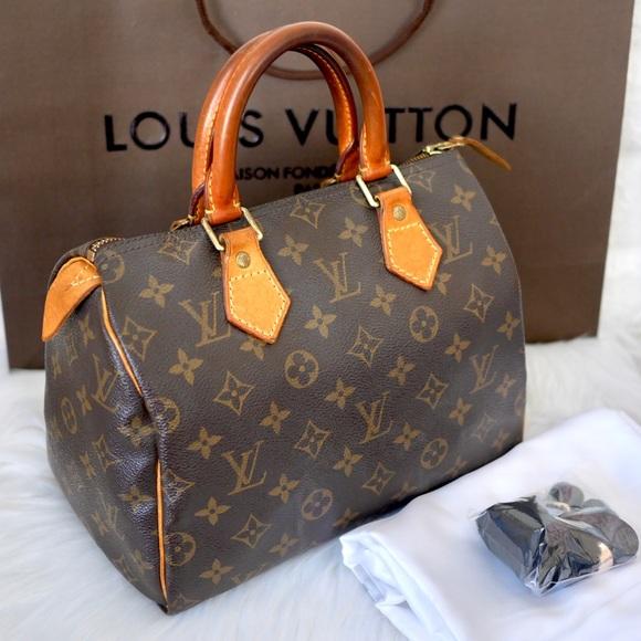 89dd571e02ee Louis Vuitton Handbags - 💖Louis Vuitton Monogram Speedy 25
